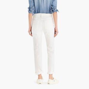 J. Crew Jeans - Slim broken-in boyfriend jean in white Item C1008